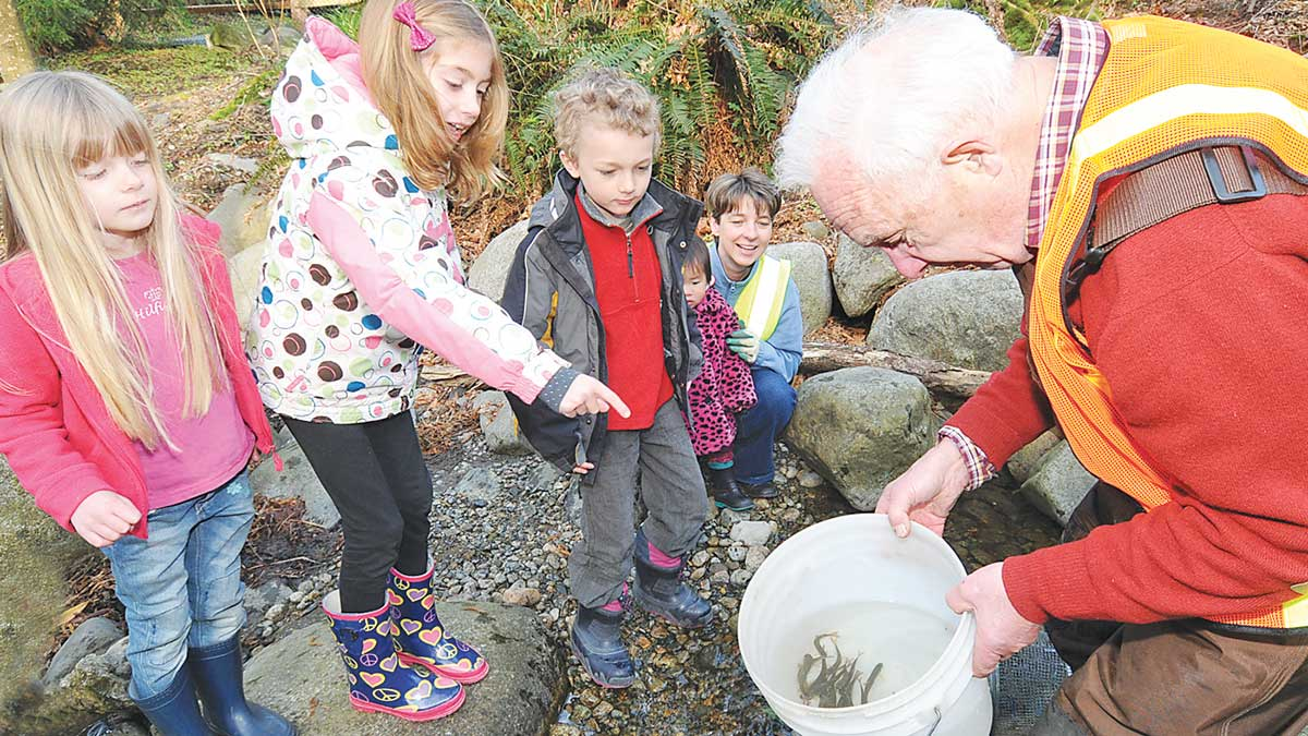 Coho Society Adopt a Fish program